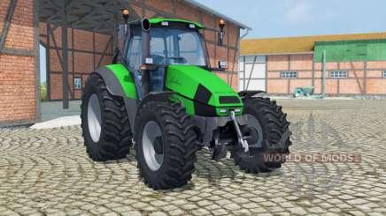 Deutz-Fahr Agrotron 120 Mk3 vivid malachite for Farming Simulator 2013