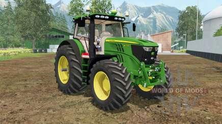 John Deere 6210R north texas green for Farming Simulator 2015