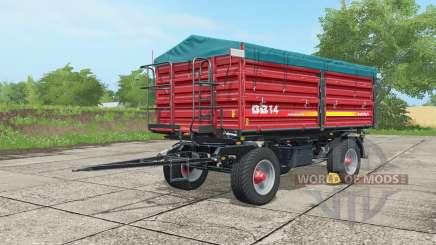 Metaltech DB 14 alizarin crimson for Farming Simulator 2017