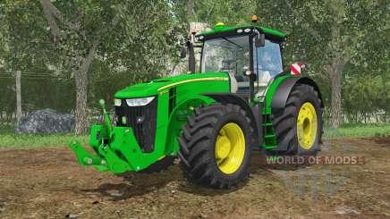 John Deere 7290R&8370R IC control for Farming Simulator 2015