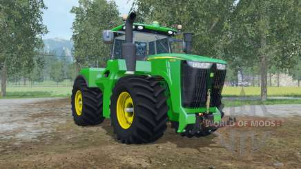 John Deere 9620R fronthydraulic for Farming Simulator 2015