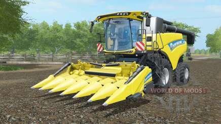 New Holland CR6.90 ripe lemon for Farming Simulator 2017