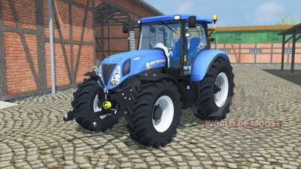 New Holland T7.210 change wheels for Farming Simulator 2013