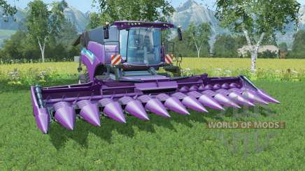New Holland CR10.90 seance for Farming Simulator 2015