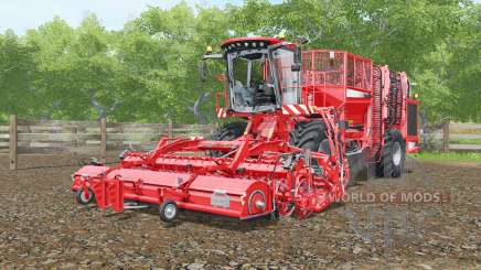 Holmer Terra Dos T4-30 with grubbers HR for Farming Simulator 2017