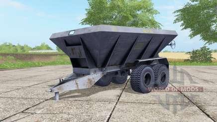HLM-8B gray-blue color for Farming Simulator 2017