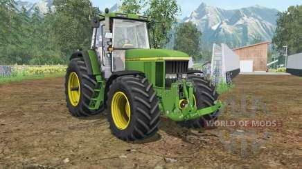 John Deere 7710&7810 wheels shader for Farming Simulator 2015