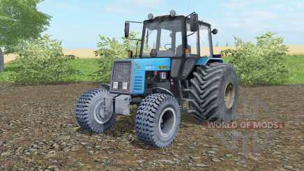 MTZ-892 Belarus wide wheels for Farming Simulator 2017