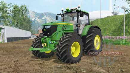 John Deere 6170M wheels weights for Farming Simulator 2015