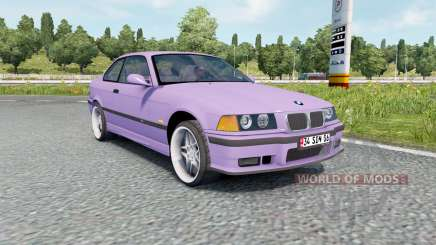 BMW M3 coupe (E36) v1.1 for Euro Truck Simulator 2