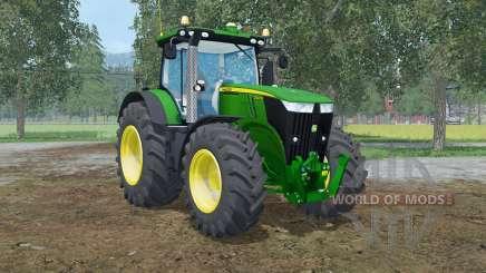 John Deere 7310R pantone green for Farming Simulator 2015