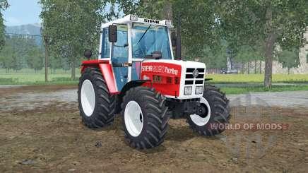 Steyr 8080A front loader for Farming Simulator 2015