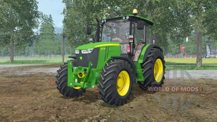 John Deere 5M-series for Farming Simulator 2015
