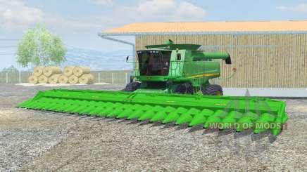 John Deere 9770 STS dual front wheels for Farming Simulator 2013