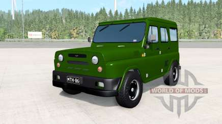 UAZ Antigenic army for BeamNG Drive