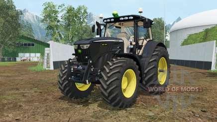 John Deere 6210R Black Edition for Farming Simulator 2015
