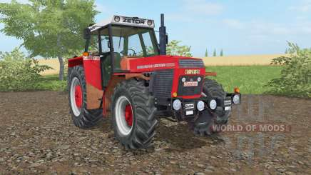Zetor 16145 light brilliant red for Farming Simulator 2017