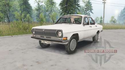 GAZ-24 Vola for Spin Tires