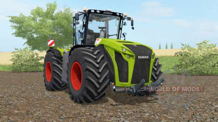 Claas Xerion 5000 Trac VC apple green for Farming Simulator 2017
