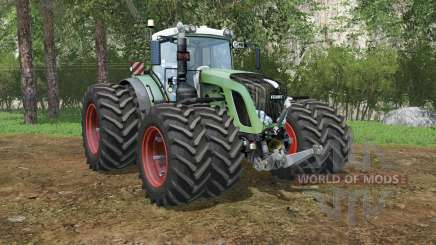 Fendt 936 Vario shiny shamrock for Farming Simulator 2015