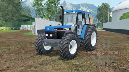 Ford 7840 rich electric blue for Farming Simulator 2015