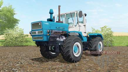 T-150K Bondi blue color for Farming Simulator 2017