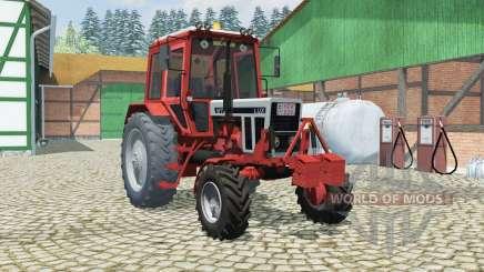 MTZ-82 Belarus orange-red color for Farming Simulator 2013
