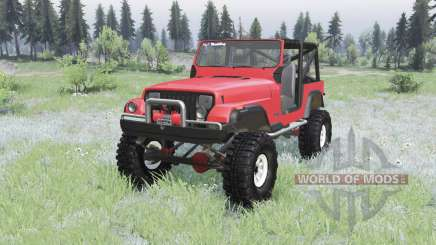 Jeep Wrangler (YJ) 1989 for Spin Tires