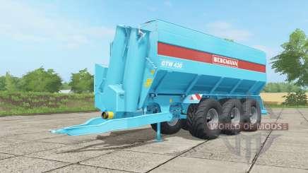 Bergmann GTW 430 ᶆulticolor for Farming Simulator 2017
