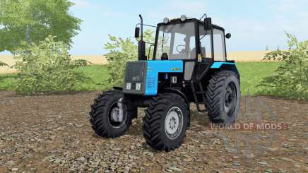 MTZ-Belarus 1021 blue color for Farming Simulator 2017