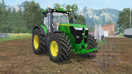 John Deere 7310R wheel shader for Farming Simulator 2015