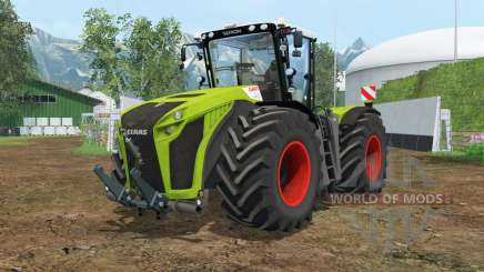 Claas Xerion 5000 Trac VC wheel shader for Farming Simulator 2015