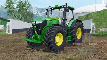 John Deere 7270R islamic green for Farming Simulator 2015