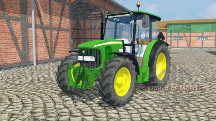 John Deere 5100R  front loader for Farming Simulator 2013
