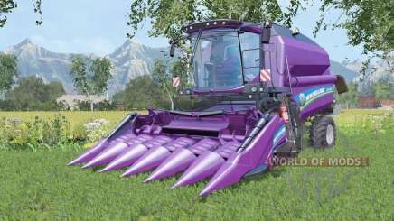 New Holland TC5.90 with two cutters for Farming Simulator 2015