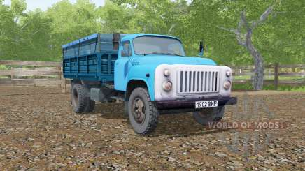 GAS-SAZ-3507 blue color for Farming Simulator 2017