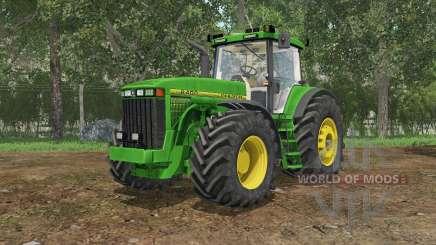John Deere 8400 north texas green for Farming Simulator 2015