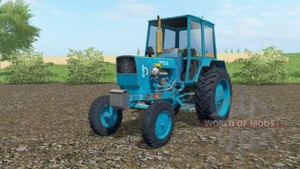 UMZ-6КЛ blue color for Farming Simulator 2017