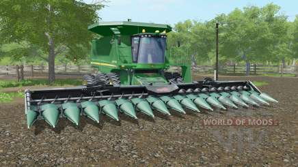 John Deere 9770 STS spanish green for Farming Simulator 2017