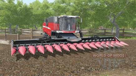Massey Ferguson 9380 Delta with optional crawler for Farming Simulator 2017