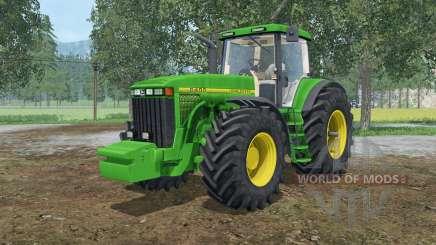 John Deere 8400 front weight for Farming Simulator 2015
