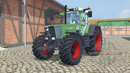 Fendt Favorit 818 Turbomatik sea green for Farming Simulator 2013