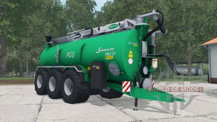 Samson PGII 27 shamrock green for Farming Simulator 2015