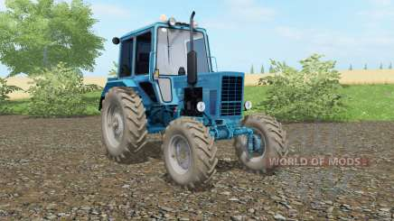 MTZ-82 Belarus blue color for Farming Simulator 2017