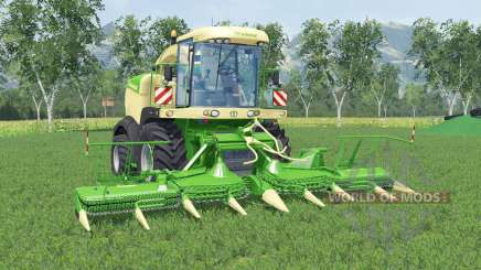 Krone BiG X 580 lime greeɳ for Farming Simulator 2015