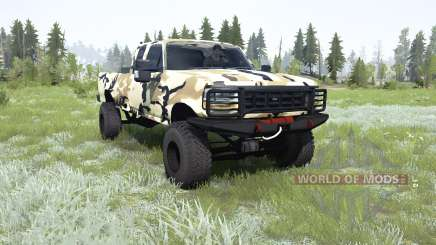 Ford F-350 Super Duty Extended Cab for MudRunner