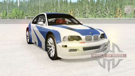 BMW M3 GTR (E46) NFS MW Edition for BeamNG Drive