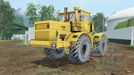 Kirovets K-700A the doors open for Farming Simulator 2015