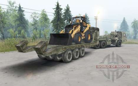 BAZ-64022 for Spin Tires