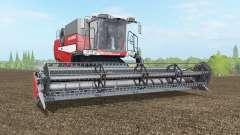 Laverda M410 alizarin crimson for Farming Simulator 2017